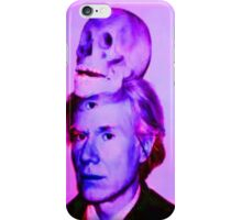 Mortality of Andy Warhol iPhone Case/Skin