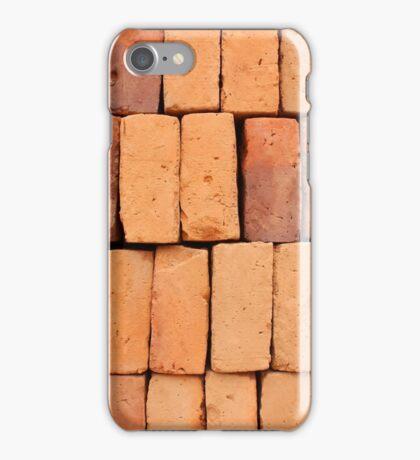 Stacked Handmade Adobe Bricks iPhone Case/Skin
