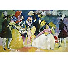 Kandinsky - Group In Crinolines Photographic Print