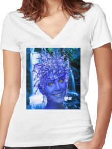 Water Nymph Women's Fitted V-Neck T-Shirt