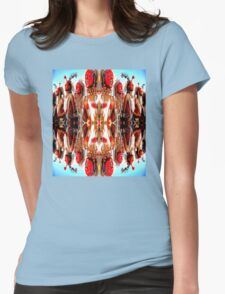 Tribal Dance Womens Fitted T-Shirt