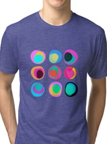 Points of view white Tri-blend T-Shirt