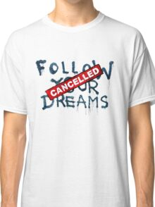 Banksy - Follow your dreams (part) Classic T-Shirt