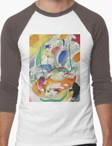 Kandinsky - Improvisation 31 Men's Baseball ¾ T-Shirt