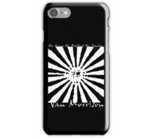 Van Morrison No Guru iPhone Case/Skin