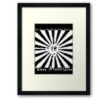 Van Morrison No Guru Framed Print