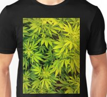 Marijuana Leaves Unisex T-Shirt