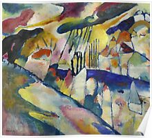 Kandinsky - Landscape With Rain Poster