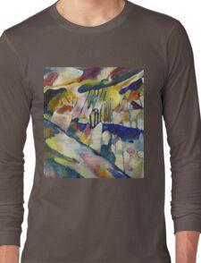 Kandinsky - Landscape With Rain Long Sleeve T-Shirt