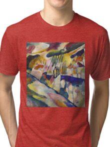 Kandinsky - Landscape With Rain Tri-blend T-Shirt