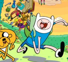 Adventure time =) Sticker