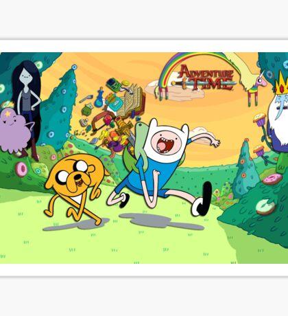 Adventure time =) Sticker