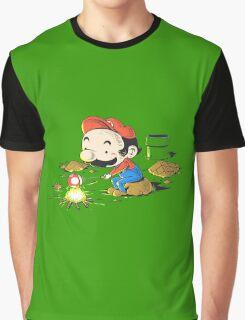 Mario Camp site Graphic T-Shirt