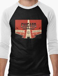 Chicago Open Air Music Festival 3 Men's Baseball ¾ T-Shirt