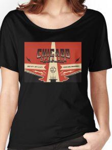 Chicago Open Air Music Festival 3 Women's Relaxed Fit T-Shirt