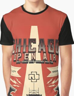 Chicago Open Air Music Festival 3 Graphic T-Shirt