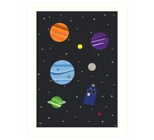 All of Space and Time Art Print