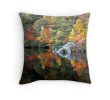Trout Pond, West Virginia Throw Pillow