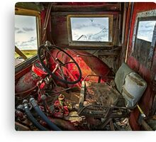 Tractor Cab Canvas Print
