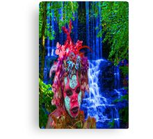 Nature Zombie Canvas Print