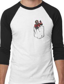 Ant Man in Pocket Men's Baseball ¾ T-Shirt
