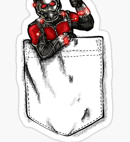 Ant Man in Pocket Sticker