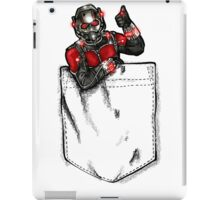 Ant Man in Pocket iPad Case/Skin