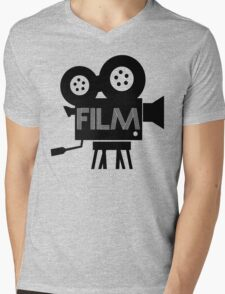 FILM - CAMERA Mens V-Neck T-Shirt