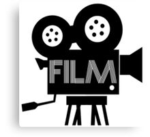 FILM - CAMERA Canvas Print