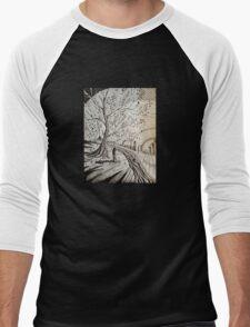 city tree Men's Baseball ¾ T-Shirt