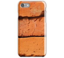 Brown Adobe Bricks iPhone Case/Skin