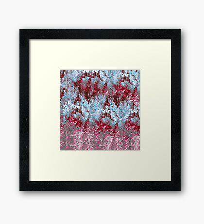 abstract media 5/16 Framed Print