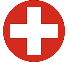 Roundel of the Swiss Air Force Photographic Print