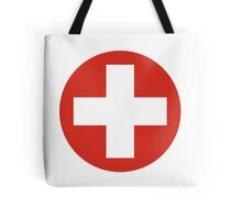 Roundel of the Swiss Air Force Tote Bag