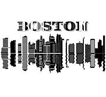 Boston City Photographic Print