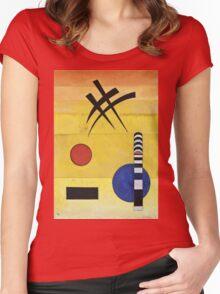 Kandinsky - Sign Women's Fitted Scoop T-Shirt