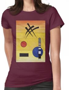 Kandinsky - Sign Womens Fitted T-Shirt