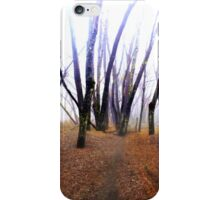 Meditation on Fear iPhone Case/Skin