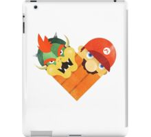 Bowser & Mario iPad Case/Skin