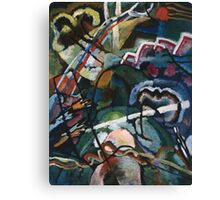 Kandinsky - Sketch I For  Painting With White Border Canvas Print