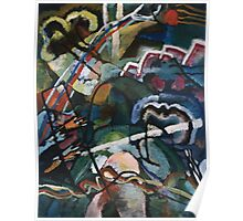 Kandinsky - Sketch I For  Painting With White Border Poster