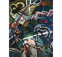 Kandinsky - Sketch I For  Painting With White Border Photographic Print