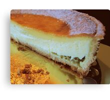 Anyone for cheesecake? Canvas Print