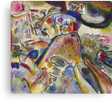 Kandinsky - Small Pleasures Canvas Print