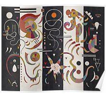 Kandinsky - Striped Poster