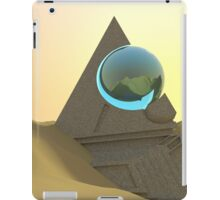 Science Fiction Desert Scene iPad Case/Skin