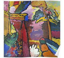 Kandinsky - Study For  Painting With White Border Poster