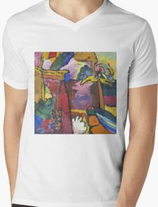 Kandinsky - Study For  Painting With White Border Mens V-Neck T-Shirt