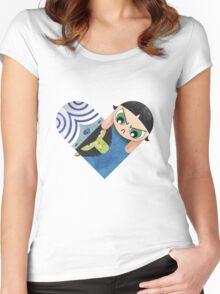 Mojojojo & Buttercup Women's Fitted Scoop T-Shirt