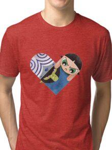 Mojojojo & Buttercup Tri-blend T-Shirt